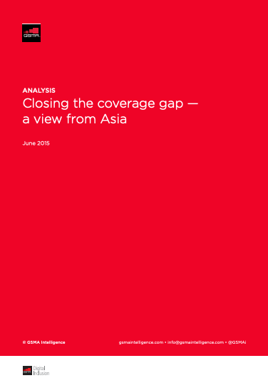 Closing the Coverage Gap: A view from Asia image