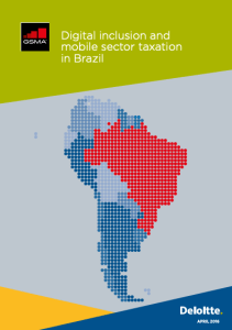 Digital inclusion and mobile sector taxation in Brazil 2016 image