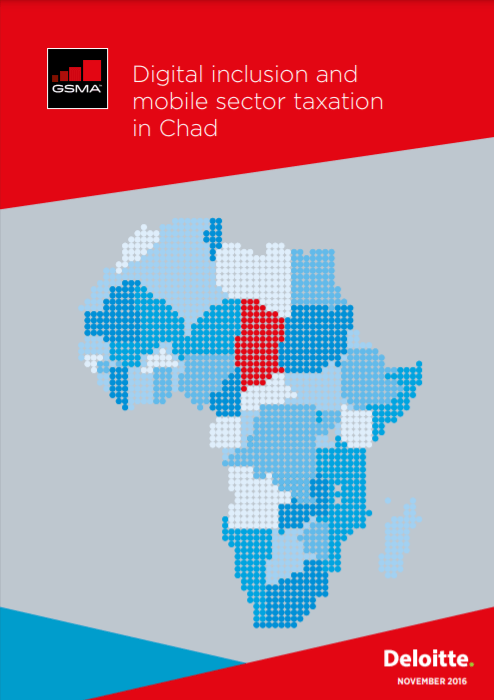 Digital inclusion and mobile sector taxation in Chad 2016 image