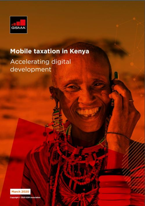Mobile taxation in Kenya: Accelerating digital development 2020 image