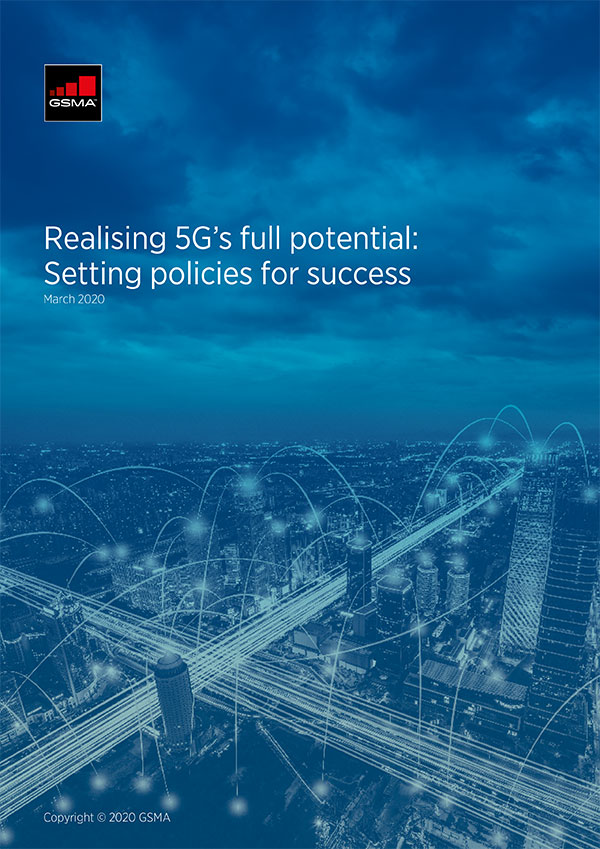 Realising 5G's full potential: Setting policies for success image