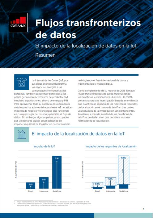Cross-Border Data Flows: The impact of data localisation on IoT image
