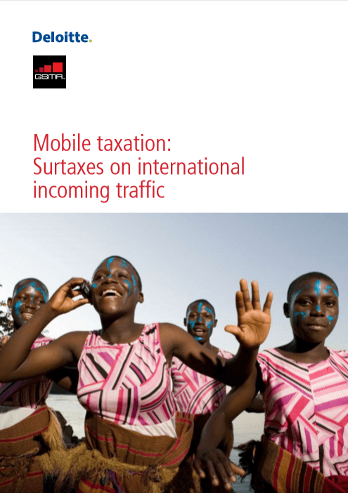 Mobile taxation – Surcharges on international incoming traffic 2011 image