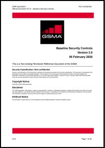 FS.31 GSMA Baseline Security Controls image