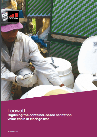 Loowatt: Using mobile tools to support the provision of urban sanitation services in Madagascar image