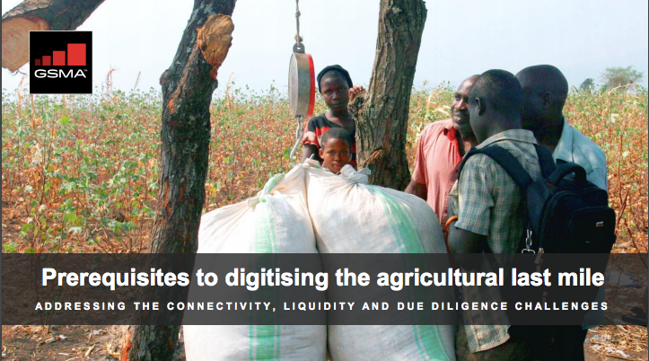 Prerequisites to digitising the agricultural last mile image