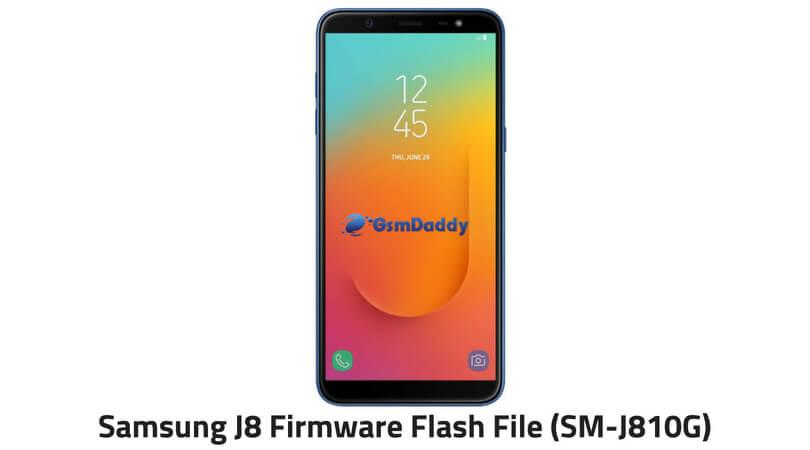 Samsung J8 Firmware