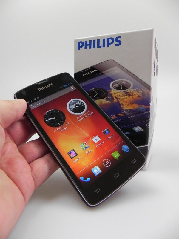 Philips Xenium W8510 Unboxing Big Battery Ahoy Video