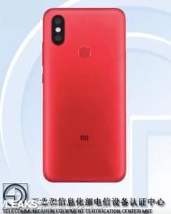 Xiaomi Mi 6X/ fot. TENAA