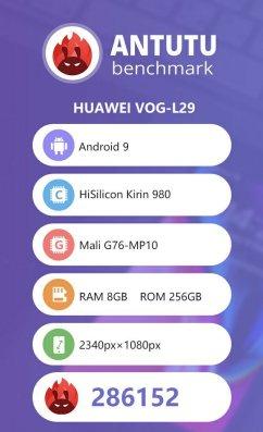 Huawei P30 Pro w AnTuTu