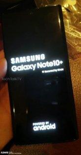Samsung Galaxy Note 10/fot. TechTalkTV via SlashLeaks