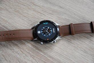 Huawei Watch GT2 tarcza analogowa (1) / fot. techManiaK