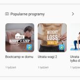 Samsung Health plany, treningi, informacje (1)