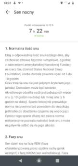Watch GT 2e: analiza snu w aplikacji Zdrowie (1)