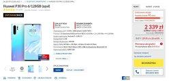 Promocyjna cena Huawei P30 Pro (6/128 GB)
