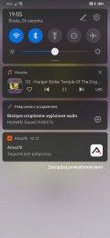 Huawei AI Life: odtwarzanie muzyki w aplikacji Huawei Muzyka (3)