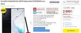 Promocyjna cena Galaxy Note 10 w Media Expert