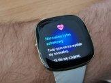 Fitbit Sense badanie EKG (5)