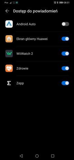 WiiWatch: pierwsze ustawienia z Corn WB05, powiadomienia