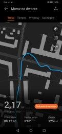 Huawei Watch Fit zapis śladu GPS (2)
