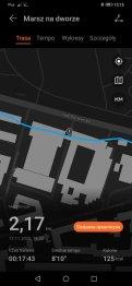 Huawei Watch Fit zapis śladu GPS (3)
