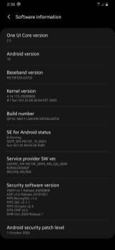 One UI 2.5 dla Galaxy M21 / fot. XDA
