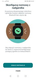 Fitbit: konfiguracja rozmów głosowych (1)
