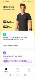 Xiaomi Mi Watch rezultaty marszu (1)