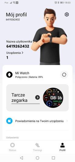 Xiaomi Wear główne ekrany (6)