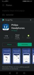 Aplikacja Philips słuchawki (1)