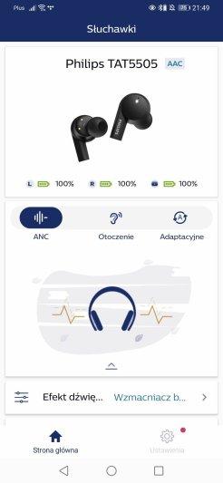 Aplikacja Philips słuchawki (11)