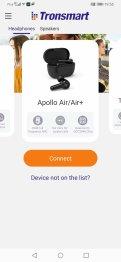 Tronsmart aplikacja : dostępne słuchawki (4)