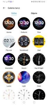 realme Watch S Pro przykladowe tarcze w aplikacji (2)