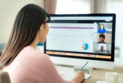 virtual video call