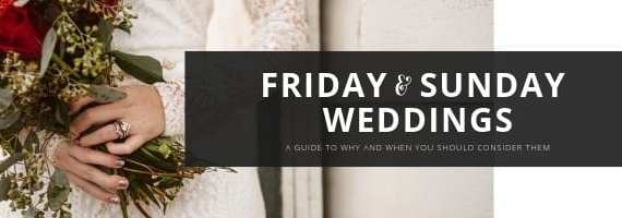 FRIDAY OR SUNDAY WEDDING by GSquared Weddings Photography