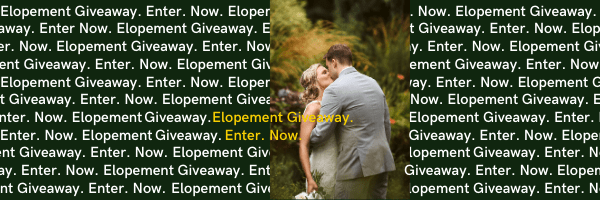 elopement giveaway 2020 blog header Seattle and Snohomish Wedding and Engagement Photography by GSquared Weddings Photography