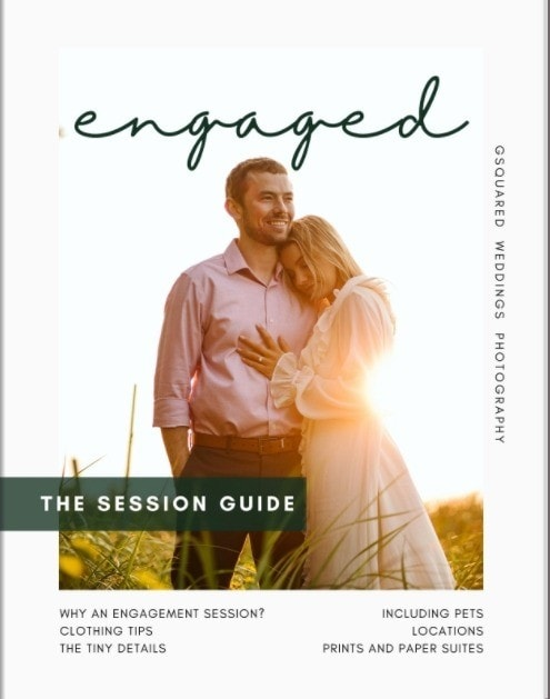 engagement guide cover for featured photo Seattle and Snohomish Wedding and Engagement Photography by GSquared Weddings Photography