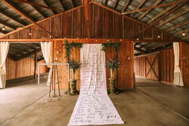 Wedding Ceremony space at the Farm at Swan's Trail in Snohomish
