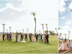 wedding party inspiration by gsquared weddings photography