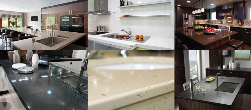 quartz slab applications