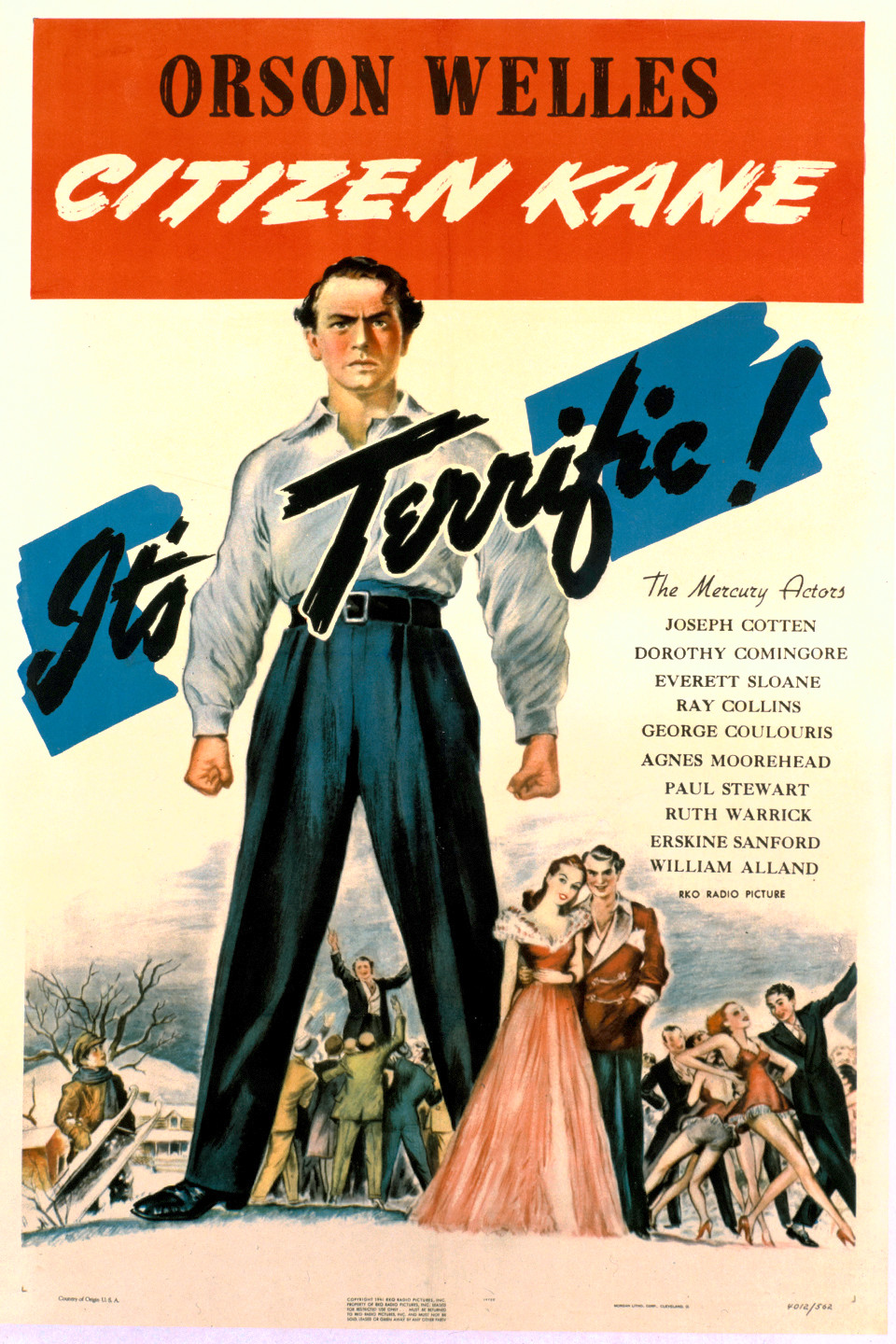 Image result for Citizen Kane (1941)