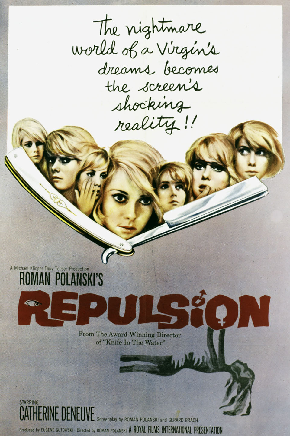 Image result for Repulsion 1965