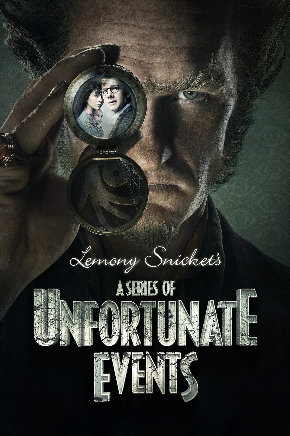 Promotional poster for A Series of Unfortunate Events