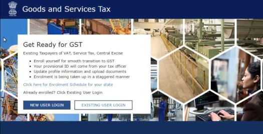 New Registration Process on GST Portal