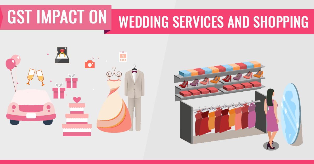GST Impact on Wedding Services and Shopping