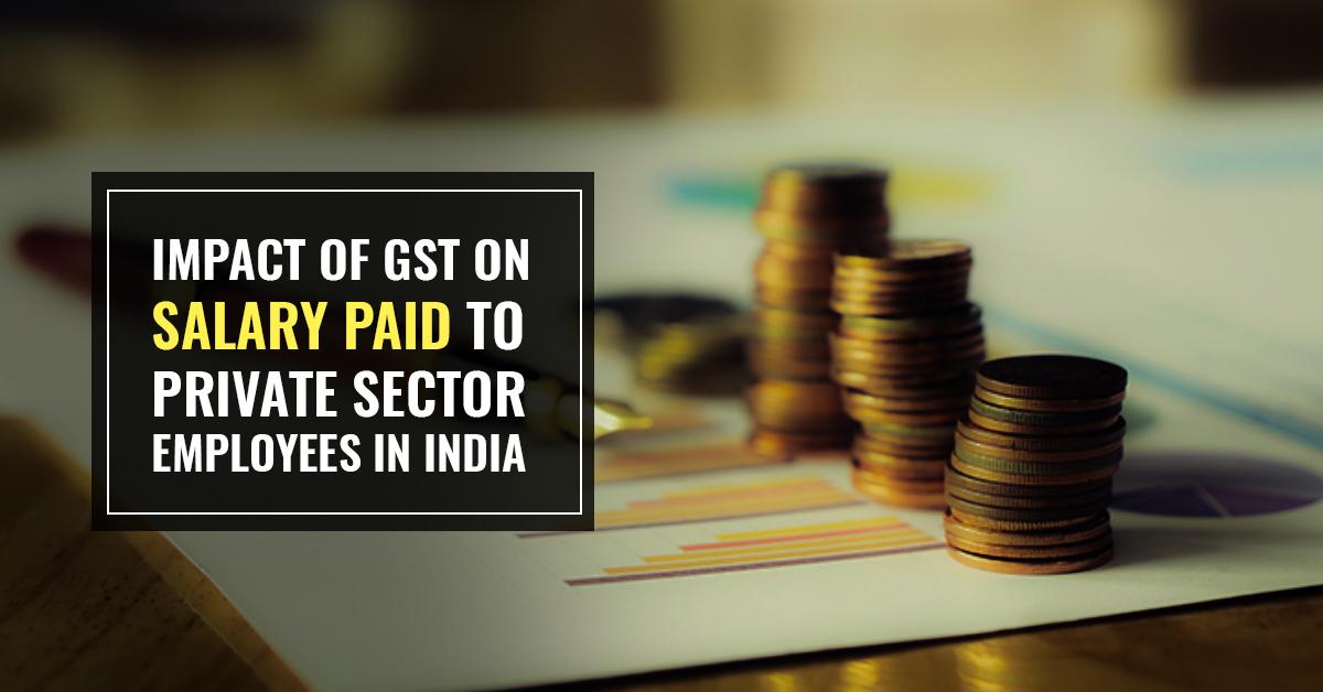 GST on Salary