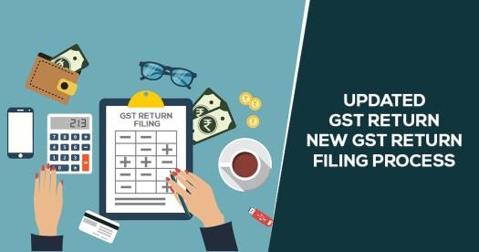 New GST Return Filing Process