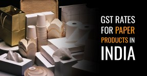GST Rates for Paper Products
