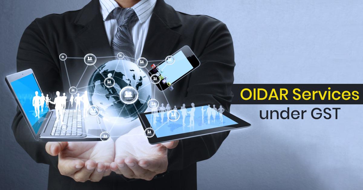 OIDAR Services under GST