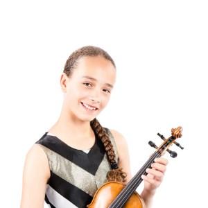 violinist Rebecca Spence